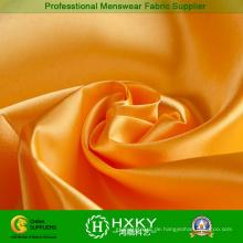 Goldene Farbe Polyester Satin Stoff für dekorative Boxen