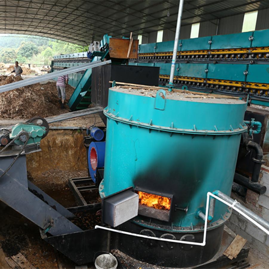 Veneer Biomass Burner