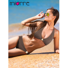Miorre Women Neck Tie Swimwear Quick Dry Bikini