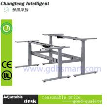 L-förmiger höhenverstellbarer Büro-Schreibtisch-Rahmen & 3 Beine elektrisch höhenverstellbarer Tischgestell & Tischgestelle und Beine