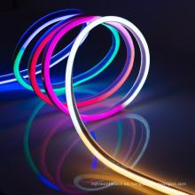 Barra suave de la tira de la luz de la cuerda del neón del lado del LED RGB flexible resistente al agua multifuncional de 120V