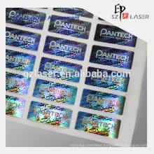 High security anti-counterfeit custom hologram sticker