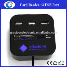 3Ports Square Card Reader Android USB Hub