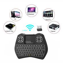 Colorful mini keyboard i9 mini wireless keyboard for smart tv keyboard wireless air mouse backlight
