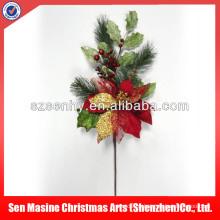 Venta al por mayor plástico de las decoraciones de la yarda de la Navidad