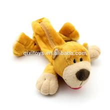 japanischer kundenspezifischer Federmäppchen Teddybär geformte Federmäppchen Plüschtiere