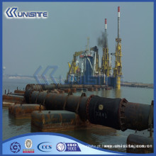Pontão de barco flutuante para pontões para construção e dragagem marinha (USA1-024)
