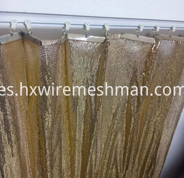 metal cloth curtain