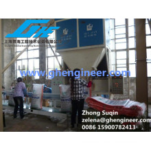 Black Carbon Containerized Weighning and Bagging Machine