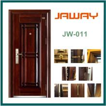 Jaway Manufacture Sicherheit Außen Eisen Stahltür (JW-907)