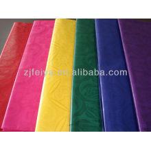 GHALILA Shadda Guinea Brocade Barato Bazin Riche Algodón Afircan Ocasión Textiles