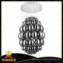 Lámpara moderna vendedora caliente del techo del cromo GU10 (MX10576-6-800)