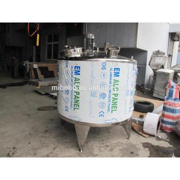 Handelsübliche Edelstahl-kleine Pasteurisierungsmaschine für Milch