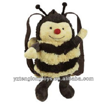 Factory Wholesale Animal Shaped Plush Backpack Bee Backpack