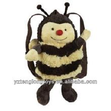 Фабрика оптового животного сформировала плюшевый рюкзак Bee Backpack