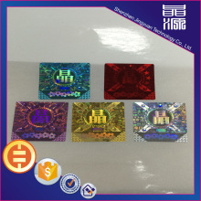 3D Anti-counterfeit Hologram Sticker Label