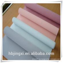 Hoja de silicona rojo transparente de grado comercial