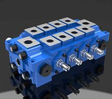 Multi - Way Multiple Combined Dl Hydraulic Directional Control Valve For Engineering