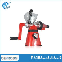 New Kitchen Hand Operated Plastic Manual Fruit Vegetable Juicer
