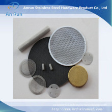 Faisceau en acier inoxydable Ss 304 pour filtre liquide