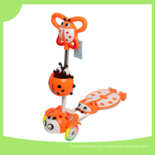 Niños fresco plegable Mini Funny Frog Scooter