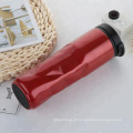 304 Tumbler isolado a vácuo de aço inoxidável com design irregular
