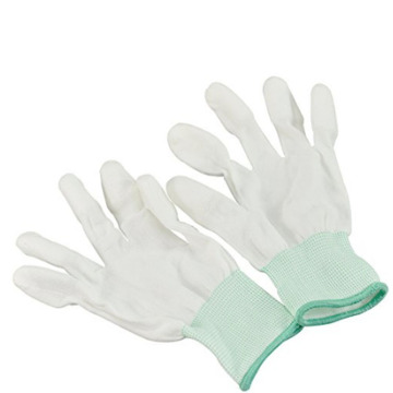 Nylon Anti Static Top Fit ESD Gloves