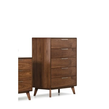 Nova Mid-Century Walnut Chest
