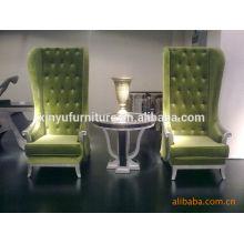 2015 nuevo diseño de la silla del vestíbulo del hotel y la mesa establece XYD101