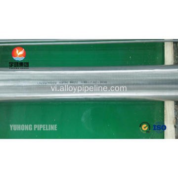 Ống liền mạch ASTM A622 Hastelloy C22
