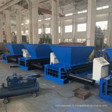 Compacteur hydraulique de canettes en aluminium