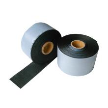Cinta de envoltura del tubo de 40 mils de espesor geotextil goma de butilo anticorrosión