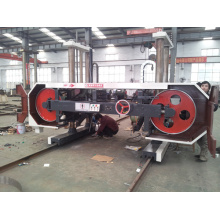 Electric power heavy horizontal saw cutter machine