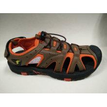 Высокое качество бренда обувь мужские наружные пляжные сандалии