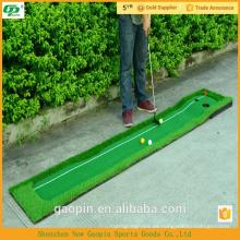 Novedad golf barato poniendo alfombra / golf putting green carpet / alfombra de golf de interior