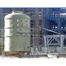 Tanque químico do enrolamento do filamento de FRP / Gfrp