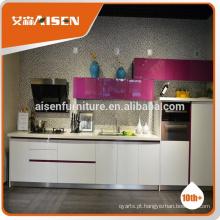 Aisen mobiliário de alta qualidade armário de cozinha barato para apartamento