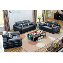 Kombination aus echtem Ledersofa, Sofa Sofa im Wohnzimmer (M221)