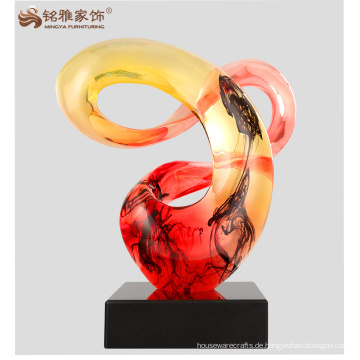 Handgemachte abstrakte Kunst scuplture Innendekoration Handwerk