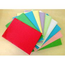 Одноцветная гофрированная бумага