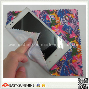 Pano de limpeza de microfibra para telefone celular de produtos digitais (DH-MC0413)