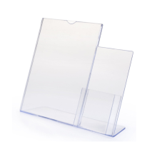 Large Counter Top Wide Brochure Sign Holder