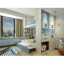 Modern Wooden Kids Bedroom Furniture Sets Bunk Bed
