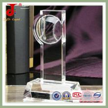 Trophée de cristal populaire 3D (JD-CT-402)