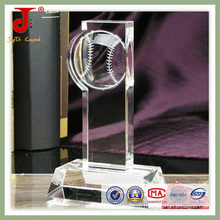 Популярный кристаллический трофей в 3D (СД-ХТ-402)