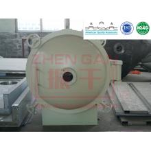 Máquina de secagem hotsale Redonda estática Secador de vácuo YZG série secagem máquina