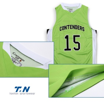 All over sublimation printed basketball jersey uniforms