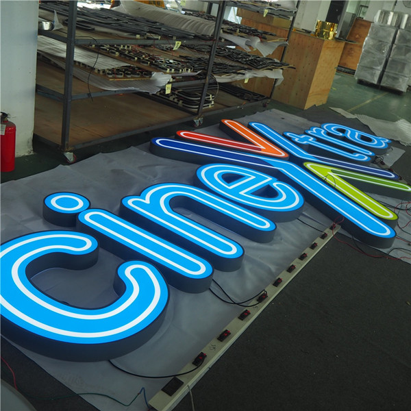 Led Open Acrylic Letter