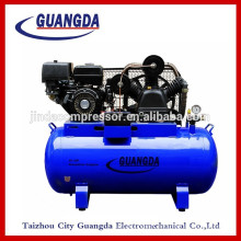 15HP 250L 12.5BAR 181PSI gasoline air compressor