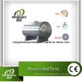 Tanque horizontal de aço inoxidável de armazenamento